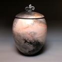 Egyedi kerámia urna, Mindenmás, Kerámia, Egyedi kerámia urna. Anyaga kőcserép. Kézzel polírozott, többször égetett urna. 22 cm x 34 cm méret..., Meska