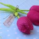 pink tavaszi tulipán , Dekoráció, Húsvéti apróságok, Varrás,  Egy kis kedveskedés a mindennapokra vagy a különleges alkalmakra, hogy maradandó emlék legyen!  Mi..., Meska