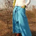 hosszú szoknya nagy hajtásokkal, Ruha, divat, cipő, Női ruha, Szoknya, Varrás, Pamut vászonbóül készült szoknya elől-hátul nagy hajtásokkal, csípőre szabva. a színek fölcserélhet..., Meska