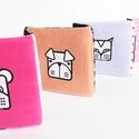 textilkönyv gyerekeknek/ pink maci, Baba-mama-gyerek, Játék, Gyerekszoba, Készségfejlesztő játék, Többfunkciós, szivaccsal bélelt textil mesekönyv, 140x20cm-es. Lapozható és leporelló szerűen kinyit..., Meska