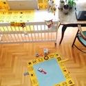 Játszószőnyeg/83x83cm Classic AJÁNDÉK UTALVÁNY, Baba-mama-gyerek, Játék, Gyerekszoba, Falvédő, takaró, Ez a termék egy egyedi játszószőnyeg ajándékutalvány, mellyel eredeti meglepetést adhatsz ajándékba...., Meska