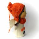 Virágtündér, Játék, Dekoráció, Baba, babaház, Plüssállat, rongyjáték, Baba-és bábkészítés, Kötés, Virágtündér  15 cm magas, bájos kis teremtmény. Arca pamutból készült, hímzett, teste gyapjúfilc. H..., Meska