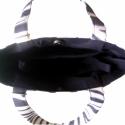 AKCIÓ!!!!! - Zebracsíkos táska+táskarendező, Táska, Válltáska, oldaltáska, MOST 1000.- KEDVEZMÉNY KAPHATSZ!!! :) (Az akcióban szereplő táskák eredeti árából 1000.- ked..., Meska