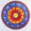 Személyre szóló mandala, Képzőművészet, Dekoráció, Festmény, Festmény vegyes technika, Festészet, Maga a mandala szó szanszkrit eredetű, és mágikus kört, korongot jelent. A mandala többnyire szimme..., Meska