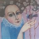 Júdáspénz, Dekoráció, Képzőművészet, Kép, Festett tárgyak, Mindenmás, A kép feszített vászonra készült akril festékkel. A méretei:40x50xx2cm, Meska