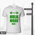 Hulk mode bekapcsolva, Férfiaknak, Ruha, divat, cipő, Férfi ruha, Urban pólók, Fotó, grafika, rajz, illusztráció, Azoknak, akik szeretnek kondizni, testet építeni, vagy szimplán ez a szuperhős a kedvencük, biztosa..., Meska