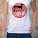Oh, my dear doxie - tacskós női póló