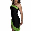 Gyakorló táncruha , Ruha, divat, cipő, Női ruha, Ruha, Varrás,   Rugalmas jersey-ből készült, mely enyhén csillog és rendkívül kellemes a tapintása. Nyakba kötős,..., Meska