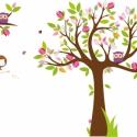 Emma falmatrica szett, Képeslap, album, füzet, Dekoráció, Képzőművészet , Grafika, Fotó, grafika, rajz, illusztráció, Ez a falmatrica összeállítás Emma, 4 éves kislány szobáját fogja díszíteni. Mivel rózsaszín a fal, í..., Meska