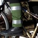 Zöld nadrágszárvédő, Férfiaknak, Mindenmás, Cipő, papucs, Varrás, A termék ára: 3 000 Ft   Kerékpáros nadrágszárvédő, párban, darabonként két-két fényvisszaverő csíkk..., Meska