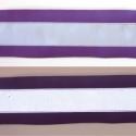 Lila fényvisszaverő pánt, Ruha, divat, cipő, Mindenmás, Varrás, Fényvisszaverő pánt textilbőrből, vidám színekben. Ezzel garantáltan észrevesznek! :) Erős, 5 cm szé..., Meska