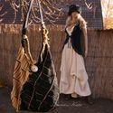"""""""Fele-más""""  avantgard hangulatban , Táska, Ruha, divat, cipő, Válltáska, oldaltáska, Női ruha, Varrás,  Különleges márkás olasz designer anyagból készült válltáska extravagáns nőknek. Ezt a táskát az an..., Meska"""