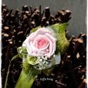 Csuklódísz , Dekoráció, Esküvő, Ékszer, óra, Virágkötés, Mindenmás, Divatos kiegészítője az esküvőknek a csuklódísz. Adhatjuk a hölgy tanúnak, örömszülőknek, de a kise..., Meska