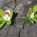 Hajdísz orchideából, Dekoráció, Esküvő, Ékszer, óra, Virágkötés, Mindenmás, Hajdíszek a hölgy tanúnak, örömszülőknek, de a kisebb - nagyobb koszorúslányok kedvelt ékszere is l..., Meska