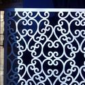 Ezüst színű pergola, térelválasztó, falidísz, lámpabúra, Dekoráció, Magyar motívumokkal, Otthon, lakberendezés, Dísz, Famegmunkálás, Fából, kézzel és lézervágással készített magyar termék, új.  Pergola, térelválasztó elem, falidísz,..., Meska