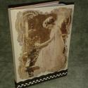 Notesz, Naptár, képeslap, album, Otthon, lakberendezés, Jegyzetfüzet, napló, , Meska