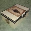 Ajándék doboz, Dekoráció, Ékszer, óra, Férfiaknak, , Meska