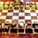 Bauhaus Sakkfigurák , Játék, Készségfejlesztő játék, Logikai játék, Társasjáték, Kerámia,  Bauhaus sakkfigurák   Ha bármilyen kérdése van, kérem ne habozzon feltenni.  A kép remélem elmondj..., Meska