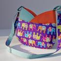 LILIPUTI maMut táska - színt hoz az életedbe!, Táska, Válltáska, oldaltáska, Törpemamut készült, kis-nagylányoknak, bevállalós anyukáknak, netalán nagyiknak:-)  Az új LILIPUTI t..., Meska
