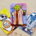 Star Wars - 3 db-os hűtőmágnes készlet, Konyhafelszerelés, Baba-mama-gyerek, Férfiaknak, Hűtőmágnes, Fotó, grafika, rajz, illusztráció, Mindenmás, Star Wars rajongóknak...  BB8, Yoda és R2D2 most együtt, egy készletben.  Különlegessége a hűtőmágn..., Meska