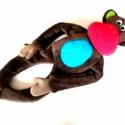 Pepe maki, Játék, Baba-mama-gyerek, Plüssállat, rongyjáték, Baba játék, Baba-és bábkészítés, Varrás, Ugyancsak mint a többi állatka a boltomban,saját tervezésű kézzel készített,puha figura wellsoft an..., Meska