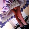 Szatmári viselet, Ruha, divat, cipő, Női ruha, Blúz, Szoknya, Varrás, Szatmári viselet  (blúz, kötény, szoknya) hozzáillő pendellyel. A szoknya anyagbősége alul a fodorn..., Meska