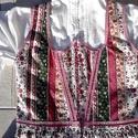 Vajdaszentiványi viselet II., Ruha, divat, cipő, Női ruha, Ruha, Varrás, Vajdaszentiványi kötényruha bordó köténnyel, csipkés inggel.  Mellbőség: 90 cm Derék: 83 cm Hossz d..., Meska