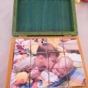 Készségfejlesztő fa kirakó kockák, fa dobozban, Baba-mama-gyerek, Játék, Fajáték, Készségfejlesztő játék, Famegmunkálás, Teljesen 100%-ban kézzel készített termék! Egyedi méretű, kézzel készített fa dobozban, fa kockák, ..., Meska