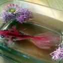 3D Hal , rose hal, Dekoráció, Férfiaknak, Konyhafelszerelés, Mindenmás, Festészet, Mindenmás, Nagy gonddal és odafigyeléssel kézzel festett,akril festékkel készült , 3D halak ,gyantával kiöntöt..., Meska
