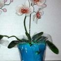 cukor orchidea, Dekoráció, Dísz, , Meska