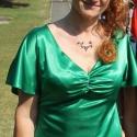 Zöld selyemszatén ruha. Koszorúslány ruha esküvőre, Ruha, divat, cipő, Női ruha, Ruha, Vacsorázni indulsz a kedvessel,és nincs mit felvenned? Itt a remek választás! Egy igazán szexi darab..., Meska
