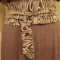 öv textil öv famintás vászon öv, Ruha, divat, cipő, Öv, Dekoratív és mutatós kiegészítője lehet öltözékednek ez a széles faerezet mintás vászon öv. Enyhén c..., Meska