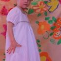 ÁRZUHANÁS -25% AZ ÁRBÓL! Ruha lányka ruha fehér buborékruha, Ruha, divat, cipő, Gyerekruha, Gyerek (4-10 év), RENDELHETŐ!Kis angyalkák lesznek a lánykák ebben a fehér buborék ruhában. Áttört mintás, gyűrt vászo..., Meska