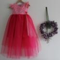 Lányka tüll ruha rózsaszín, pink koszorúslány ruha , Ruha, divat, cipő, Gyerekruha, Gyerek (4-10 év), Esküvőre mész a családdal, és nincs mit ráadni a lányodra? Itt a remek választás! Még nincs késő meg..., Meska