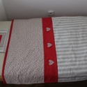 Baba takaró tiszta pamut takaró és párna csecsemőknek, Baba-mama-gyerek, Gyerekszoba, Falvédő, takaró, RENDELÉSRE!Ezt a takarót kérésre készítettem,ezért ebben a formában már nem eladó,de ha tetszik haso..., Meska