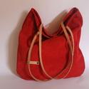 Bőr táska piros velúr bőr táska női táska, Táska, Laptoptáska, Válltáska, oldaltáska, Bőr táska valódi velúr bőr táska női piros bőr táska. Jó tartású valódi velúr bőrből készítettem ezt..., Meska