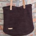 Bőr táska lila velúr bőr táska női táska, Táska, Laptoptáska, Válltáska, oldaltáska, Bőr táska valódi velúr bőr táska női lila bőr táska. Jó tartású valódi velúr bőrből készítettem ezt ..., Meska
