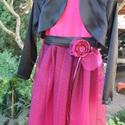 Pink fekete koszorúslány ruha fekete tütü ruha pink alkalmi ruha , Ruha, divat, cipő, Gyerekruha, Kamasz (10-14 év), Fekete pink alkalmi ruha , tüll ruha boleróval RENDELÉSRE! Ez a ruha kérésre készült pink és fekete ..., Meska