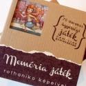 Memória játék, Baba-mama-gyerek, Férfiaknak, Játék, Készségfejlesztő játék, Festészet, Könyvkötés, - 70 db kártyát tartalmaz - a kártyák kartonlemez alapúak, matt fóliázottak mindkét oldalon, sarkai..., Meska