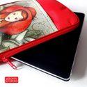 iPad táska / tok - Havanna (Nagyvárosi Élet Kollekció), Táska, Ruha, divat, cipő, Képzőművészet , Laptoptáska, Fotó, grafika, rajz, illusztráció, Varrás, - belső méret: 19,5 x 25 cm - oldalsó karikákra vállpánt kapcsolható, így táskaként is funkcionál -..., Meska