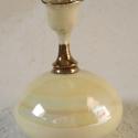 parfümöspalack, Dekoráció, Otthon, lakberendezés, Szépségápolás, Kerámia, A régi korokat idéző, finom nőies szépítkező kiegészítő. Légmentesen záródik (egy tömítőgyűrű segít..., Meska