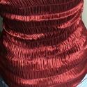 Gumírozott váll nélküli alkalmi top, Ruha, divat, cipő, Női ruha, Gyerekruha, Kamasz (10-14 év), Varrás, Váll nélküli, gumírozott top, melyet alkalmi felsőként egy boleróval, szövetszoknyával is hordhatod..., Meska