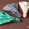 Választható színű fejkendők, Ruha, divat, cipő, Hajbavaló, Hajpánt, Varrás, 3 db. fejkendő 1500.-Ft.  A fejkendő megrendelésre készül, anyaga pamut vagy pamutvászon hátul gumi..., Meska