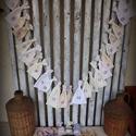 """""""Natúr árnyalatok"""" adventi naptár KOMPLETT, Dekoráció, Karácsonyi, adventi apróságok, Adventi naptár, Varrás, Visszafogottan natúr- egyszerűen magával ragadó! Egyszerű zsákok natúr árnyalatú textilekből, filcl..., Meska"""