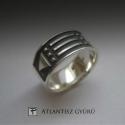 ÚJDONSÁG! Atlantisz ezüst gyűrű, Ékszer, óra, Gyűrű, Az Atlantisz gyűrű egy nagyon különleges ékszer.  Nem írom le, hogy miért, mert már rengetegen megte..., Meska