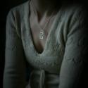 Ezüst Cica medál nyaklánccal, Ékszer, óra, Medál, Ennek a különleges cica medálnak érdekes története van. Az ékszereim között láthatják a hasonló stíl..., Meska