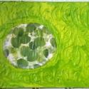 Természet-szabadság  -  érzés-energia kép, Dekoráció, Képzőművészet , Festmény, Vegyes technika, , Meska