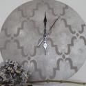 Stencilzett óra, Bútor, Dekoráció, Otthon, lakberendezés, Falióra, , Meska