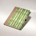 AKCIÓ! 'Bambusz'. Könyv, napló, jegyzetelő, emlékkönyv, vendégkönyv. Vászon gerinc, bambusz minta, ceruza., Képeslap, album, füzet, Baba-mama-gyerek, Jegyzetfüzet, napló, naptár, Könyvkötés, Papírművészet, AKCIÓ: 3800 Ft helyett 2900 Ft.  Az üres lapokkal készült könyv naplóként, jegyzetelőként használha..., Meska