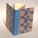 Napló, jegyzetelő, kockás vagy vonalas lapokkal rendelhető, kézzel fűzött félvásznas könyv, vászon gerinc, Naptár, képeslap, album, Jegyzetfüzet, napló, A/5-ös méretű napló, jegyzetelő, kézzel fűzött félvásznas könyv. Kockás vagy vonalas lapokkal, vagy ..., Meska